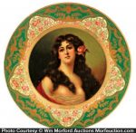 Anheuser-Busch Malt Nutrine Art Plate