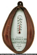 Bowman Harness Makers Thermometer