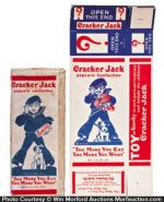 Vintage Cracker Jack Boxes