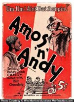 Amos _N' andy Candy Box