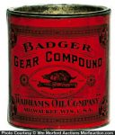 Badger Gear Grease Tin