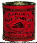 Badger Gear Grease Tin