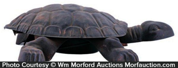 Vintage Turtle Spittoon