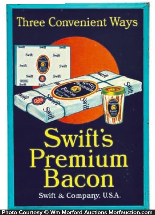 Swift's Premium Bacon Sign