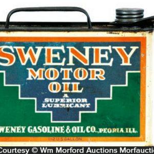 Sweney Motor Oil Can