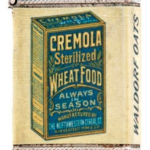 Cremola Wheat Food Match Safe