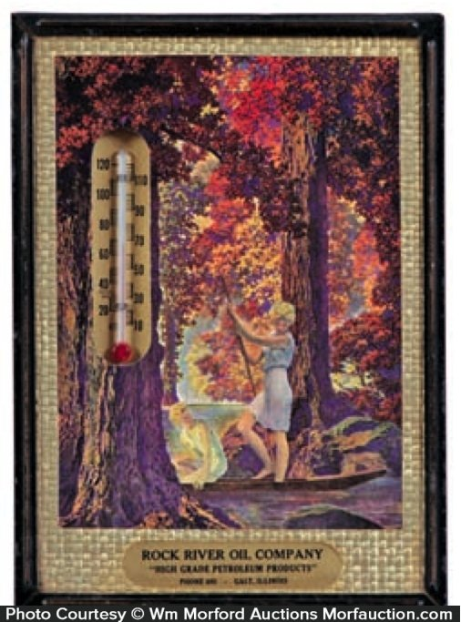 Maxfield Parrish Golden Hours Thermometer