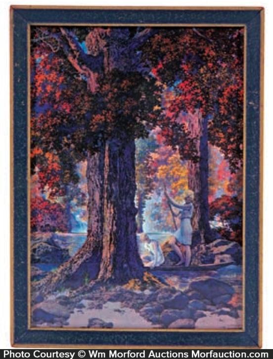 Maxfield Parrish Golden Hours Calendar Image