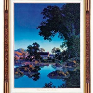 Maxfield Parrish Evening Shadows Image