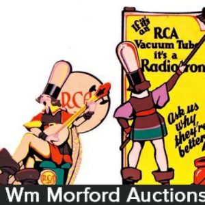 Rca Radiotron Window Display