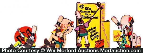 Rca Radiotron Window Display