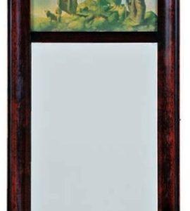 Maxfield Parrish Christmas Mirror