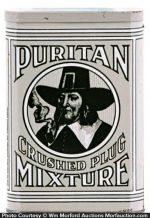 Puritan Crushed Plug Mixture Tobacco Tin