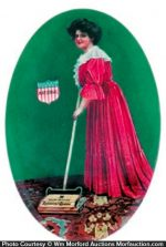National Queen Sweepers Mirror