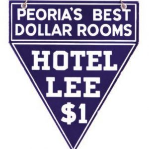 Hotel Lee Peoria Sign