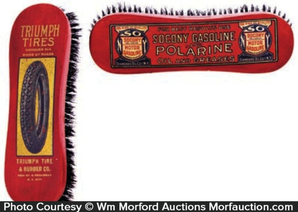 Vintage Advertising Brushes