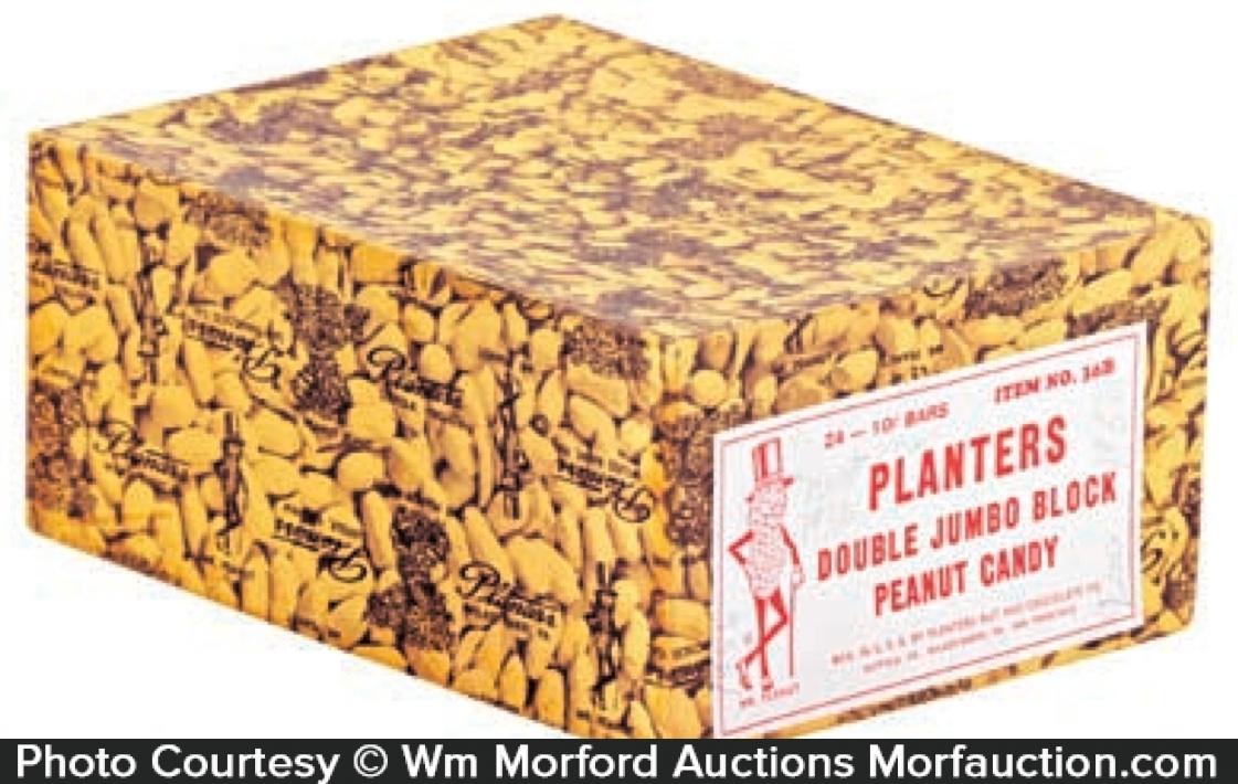 Planters Double Jumbo Block Candy Box