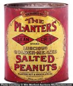 Planters Clean Crisp Peanuts Tin