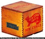 Red Coon Tobacco Box