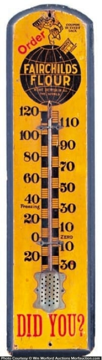 Fairchild's Flour Thermometer