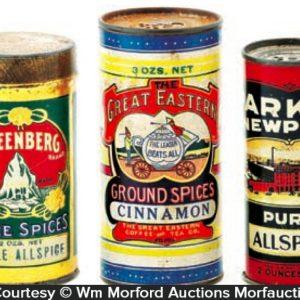 Round Spice Tins