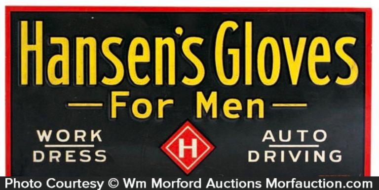 Hansen's Gloves Sign