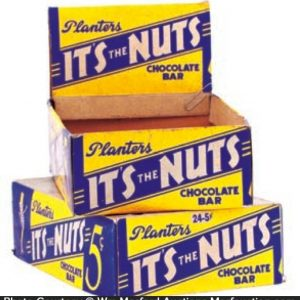 Planters It's The Nuts Display Box