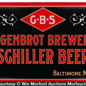 Eigenbrot Schiller Beer Sign