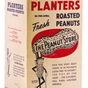 Planters Roasted Peanuts Box