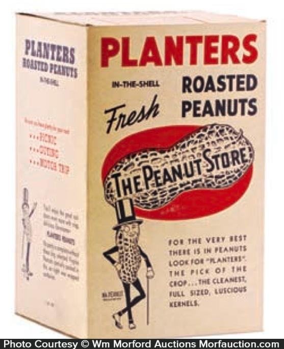 Planters Roasted Peanuts Box