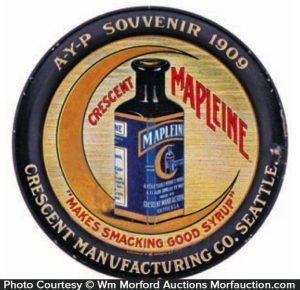 Crescent Mapleine Tip Tray