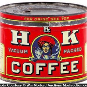 H & K Coffee Can
