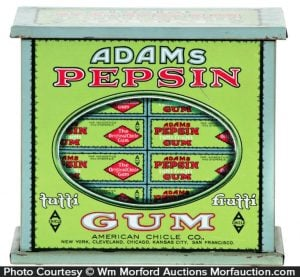 Adams Gum Tin