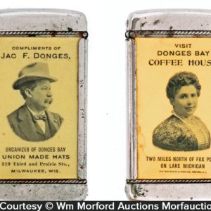 Donges Bay Coffee Match Safe