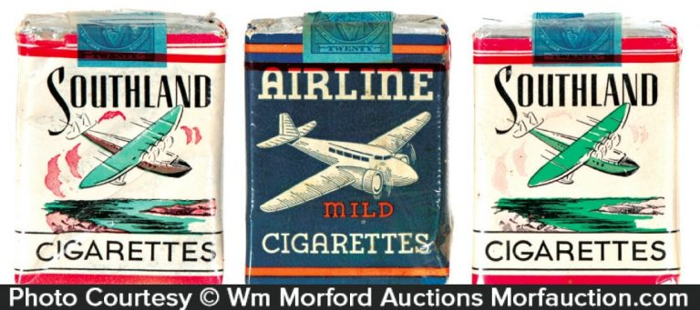 Airline Cigarette Packs