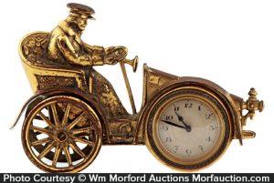 Brass Auto Clock