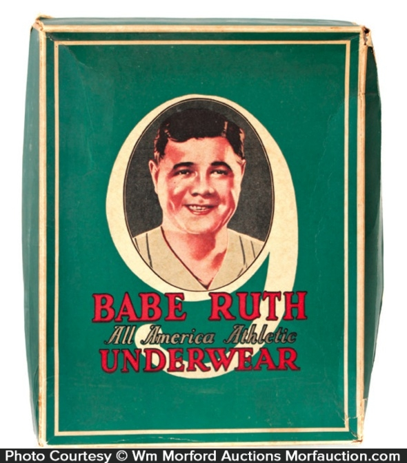 Babe Ruth Underwear Box
