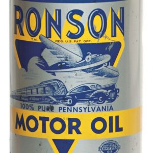 Ronson Motor Oil Can