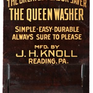 Queen Washers Match Holder