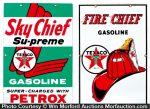 Texaco Sky Chief Signs