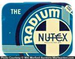 The Radium Nutex Condom Tin