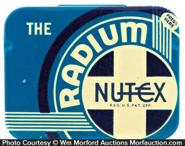The Radium Nutex Condom Tin