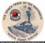 Northern Pacific Pocket Mirror