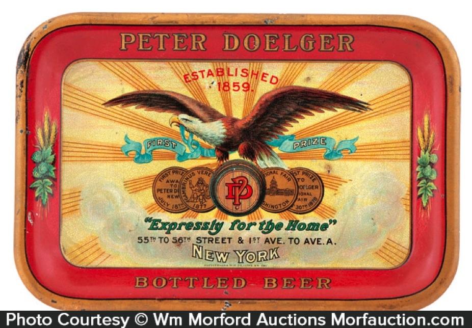 Peter Doelger Beer Tray