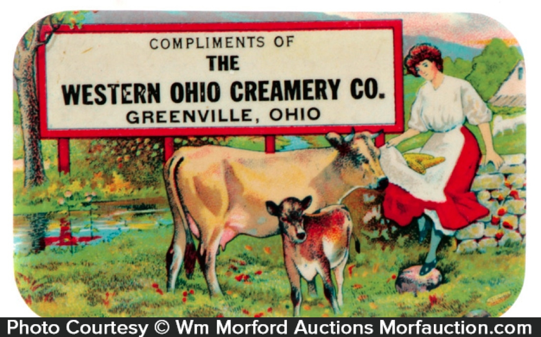 Western Ohio Creamery Mirror