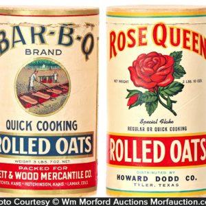 Vintage Oats Boxes