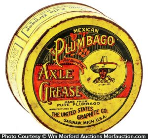 Mexican Plumbago Axle Grease Tin