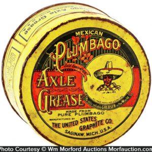 Mexican Plumbago Axle Grease Tin