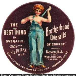 Brotherhood Overalls Mirror
