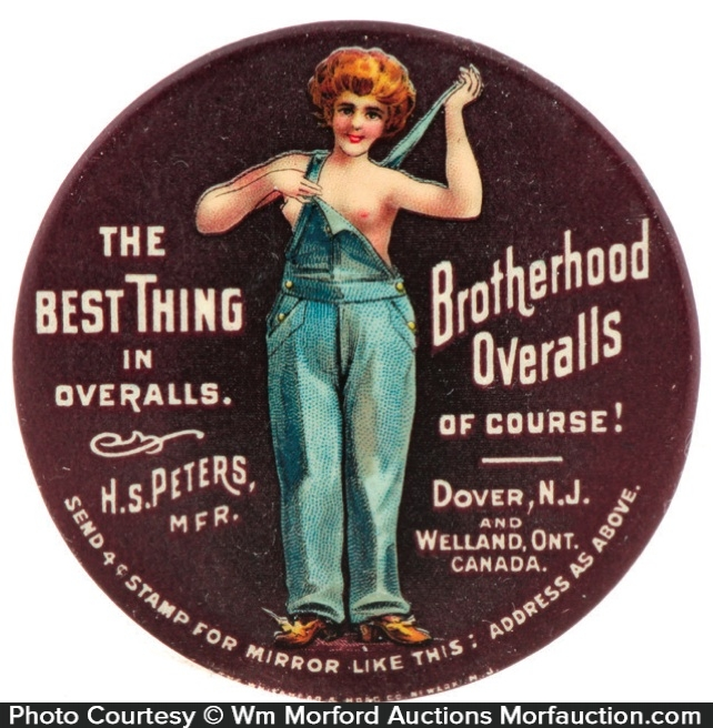 Brotherhood Overalls Mirror